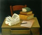 Still Life with Books Naturaleza muerta con libros