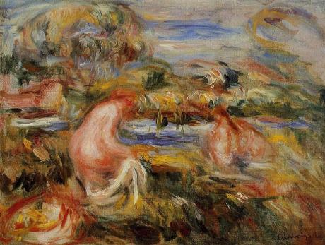 Renoir-Two-Bathers-in-a-Landscape